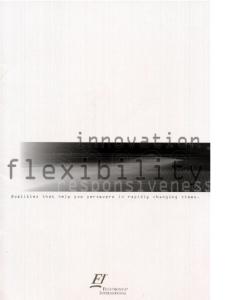 Flextronics corporate brochure